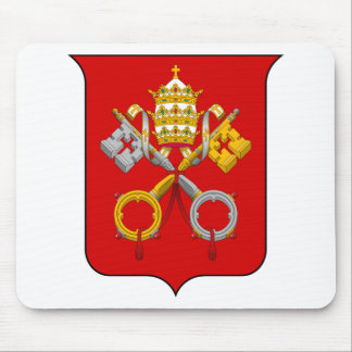 Coat of arms of he Vatican City Mouse Pad