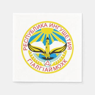 Coat of arms of Ingushetia Napkin