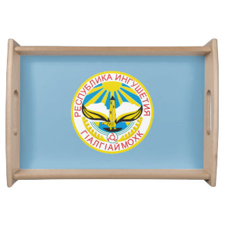 Coat of arms of Ingushetia Serving Tray