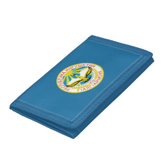Coat of arms of Ingushetia Trifold Wallets