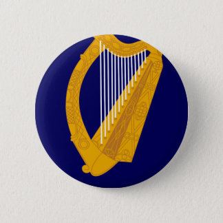 Coat of arms of Ireland - Irish Emblem 2 Inch Round Button