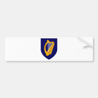 Coat of arms of Ireland - Irish Emblem Bumper Sticker