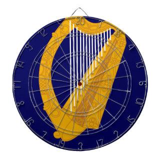Coat of arms of Ireland - Irish Emblem Dartboard