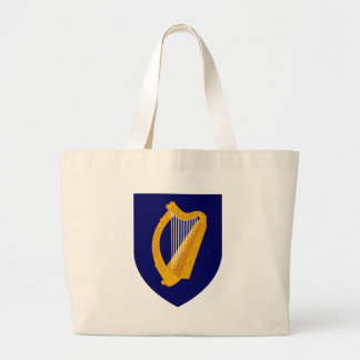 Coat of arms of Ireland - Irish Emblem Large Tote Bag