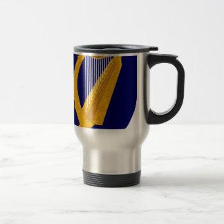 Coat of arms of Ireland - Irish Emblem Travel Mug