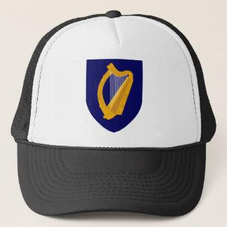 Coat of arms of Ireland - Irish Emblem Trucker Hat