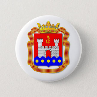 Coat of arms of Kaliningrad oblast 2 Inch Round Button