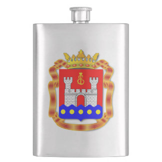 Coat of arms of Kaliningrad oblast Hip Flask