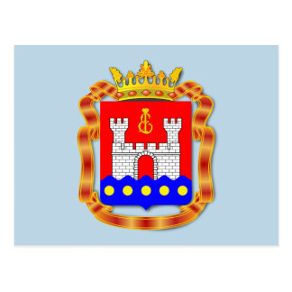 Coat of arms of Kaliningrad oblast Postcard