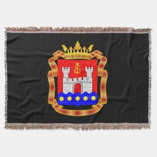 Coat of arms of Kaliningrad oblast Throw Blanket