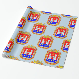 Coat of arms of Kaliningrad oblast Wrapping Paper
