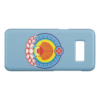 Coat of arms of Kalmykia Case-Mate Samsung Galaxy S8 Case
