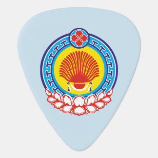 Coat of arms of Kalmykia Guitar Pick