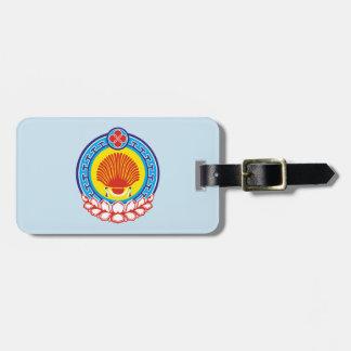 Coat of arms of Kalmykia Luggage Tag