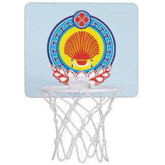 Coat of arms of Kalmykia Mini Basketball Hoop