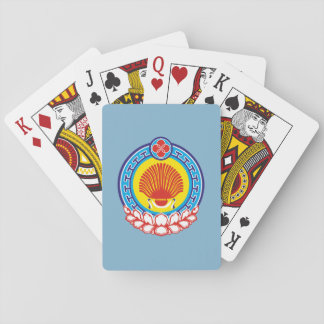 Coat of arms of Kalmykia Playing Cards