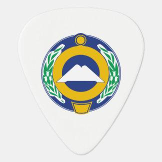 Coat of arms of Karachay-Cherkessia Guitar Pick