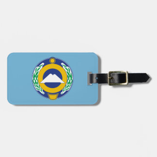 Coat of arms of Karachay-Cherkessia Luggage Tag