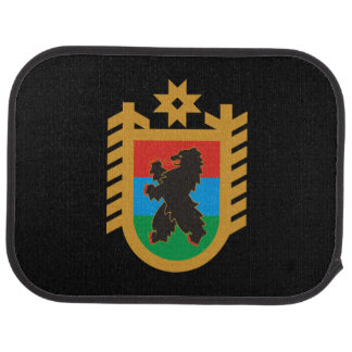 Coat of arms of Karelia Car Mat