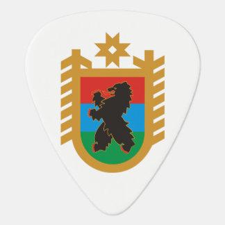 Coat of arms of Karelia Guitar Pick