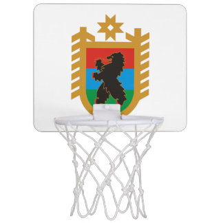 Coat of arms of Karelia Mini Basketball Hoop