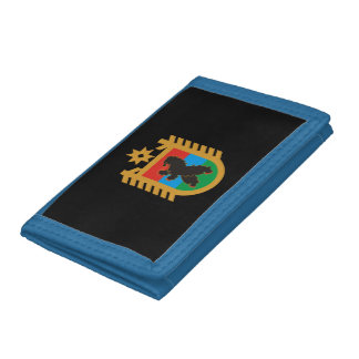 Coat of arms of Karelia Trifold Wallet