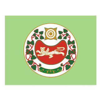 Coat of arms of Khakassia Postcard