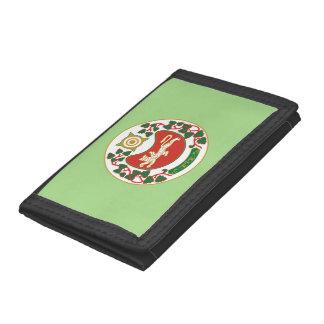 Coat of arms of Khakassia Tri-fold Wallets