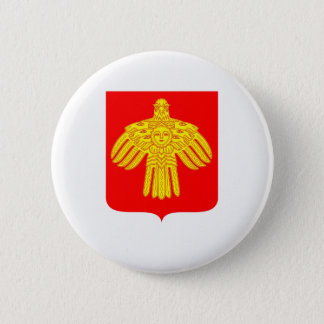 Coat of arms of Komi 2 Inch Round Button