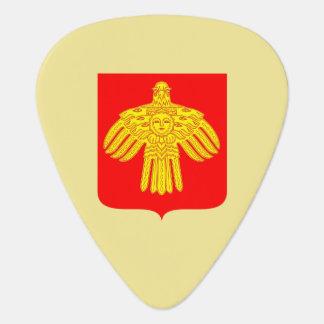 Coat of arms of Komi Guitar Pick