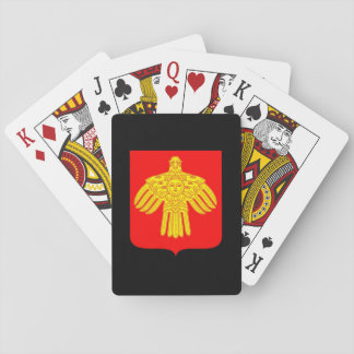 Coat of arms of Komi Playing Cards