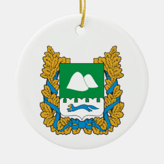 Coat of arms of Kurgan oblast Ceramic Ornament