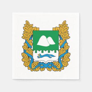 Coat of arms of Kurgan oblast Paper Napkin