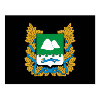 Coat of arms of Kurgan oblast Postcard
