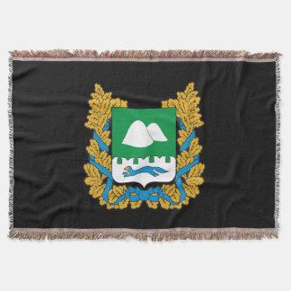 Coat of arms of Kurgan oblast Throw Blanket