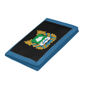 Coat of arms of Kurgan oblast Trifold Wallet