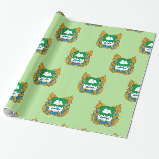 Coat of arms of Kurgan oblast Wrapping Paper