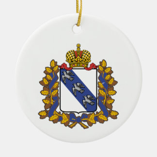 Coat of arms of Kursk oblast Ceramic Ornament