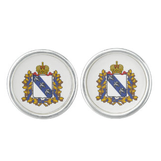Coat of arms of Kursk oblast Cufflinks