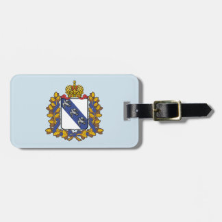 Coat of arms of Kursk oblast Luggage Tag