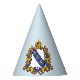 Coat of arms of Kursk oblast Party Hat