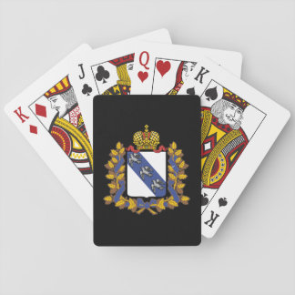 Coat of arms of Kursk oblast Playing Cards