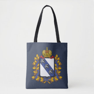 Coat of arms of Kursk oblast Tote Bag
