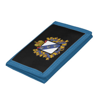Coat of arms of Kursk oblast Tri-fold Wallet