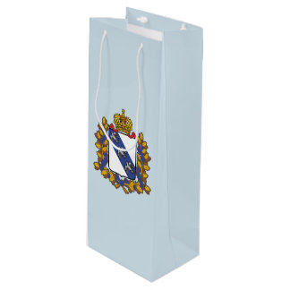 Coat of arms of Kursk oblast Wine Gift Bag