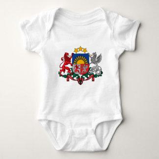 Coat of arms of Latvia - Latvijas ģerbonis Baby Bodysuit