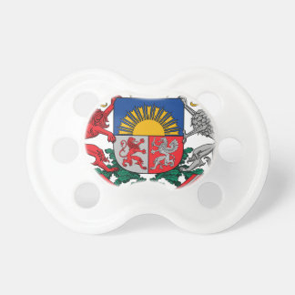 Coat of arms of Latvia - Latvijas ģerbonis Baby Pacifier