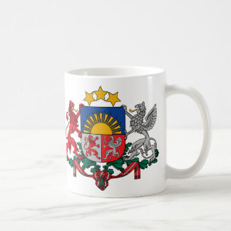 Coat of arms of Latvia - Latvijas ģerbonis Coffee Mug