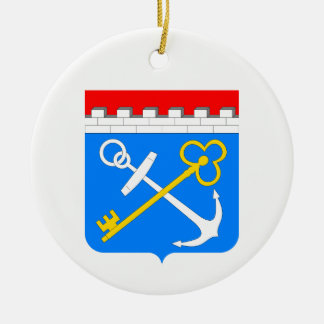 Coat of arms of Leningrad oblast Ceramic Ornament