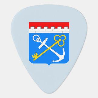 Coat of arms of Leningrad oblast Guitar Pick